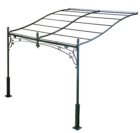 Gazebo l 39 arte del ferro battuto art of forged iron from italy for Pergola addossata ferro
